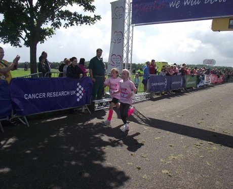The Finish Line at Newbury Race For Life