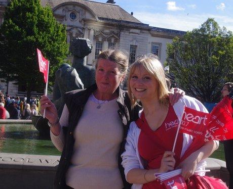 The Queens Jubilee visit to Birmingham