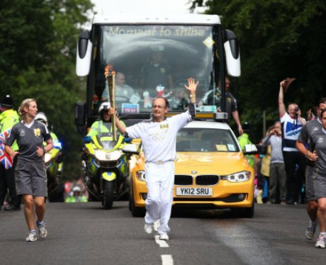 Welwyn Olympic Torch