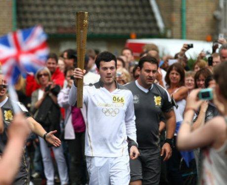 Welwyn Olympic Torch