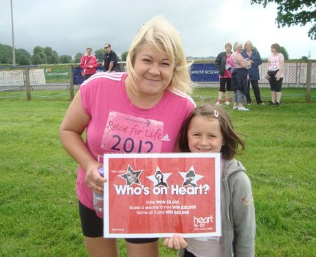 Who IS on Heart Newbury Race For Life 2012