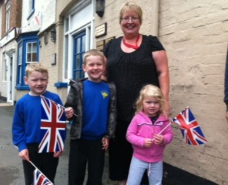 Olympic Torch - Winslow