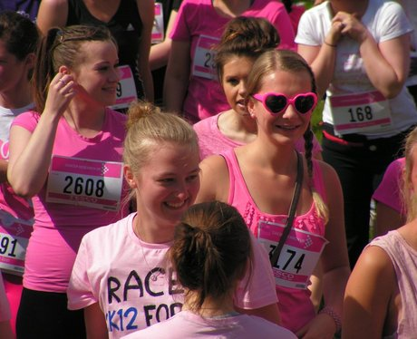 Before The Race at St Albans Race For Life