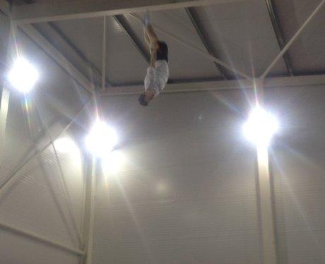 Blake Gaudry Trampolining