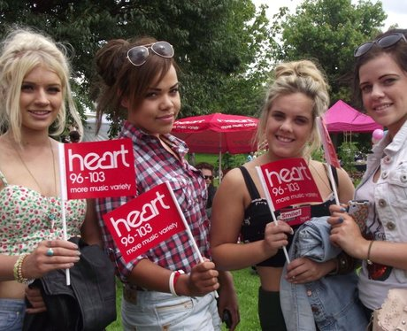 Heart at Bristol Harbour Festival Saturday