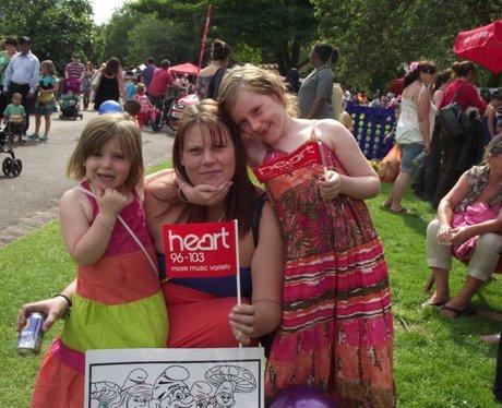 Heart at Bristol Harbour Festival Saturday
