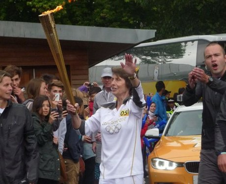 Olympic Torch in Chichester