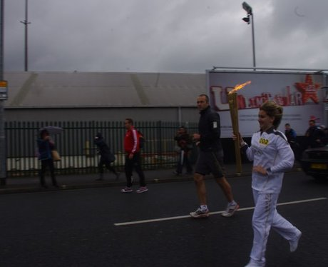 Olympic Torch in Porsmouth