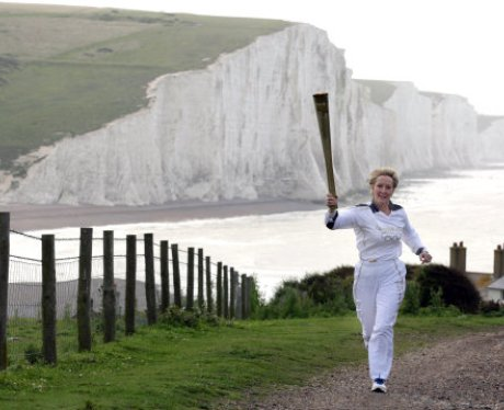 Olympic Torch Relay Day 60 Brighton to Crawley