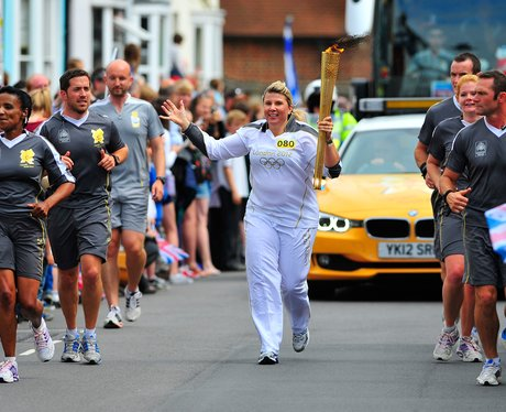 Olympic Torch Relay Day 60 Brighton to Hastings