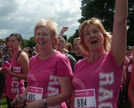 St Albans Race For Life - The start line