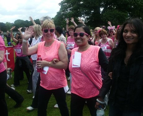 St Albans Race For Life - The start line