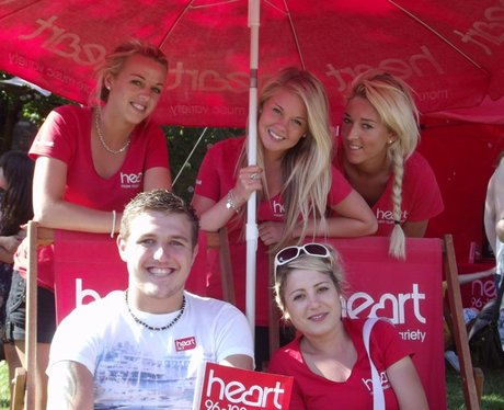 Heart at Bristol Harbour Festival Sunday