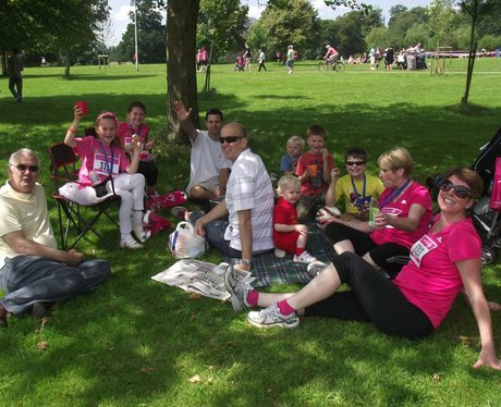 The Finish Line at Race for Life Reading