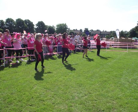 The Pink Ladies and Race for Life Reading
