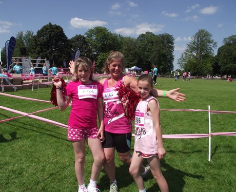 The Pink Ladies at Race for Life Reading