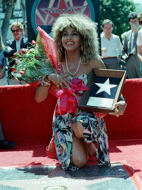 Tine Turner on The Hollywood Walk of Fame