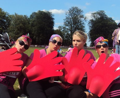 Who IS on Heart? at Race for Life Reading