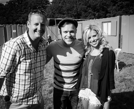 James and Charlie with Olly Murs