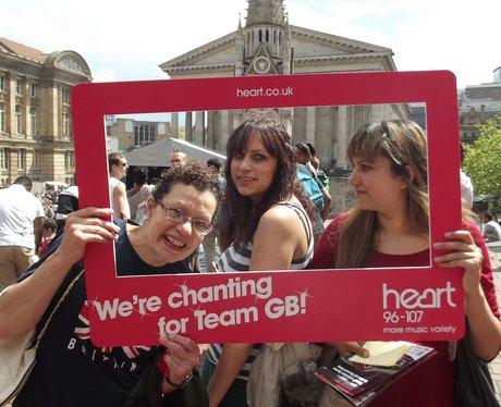 Team GB Official Chant Victoria Square Saturday