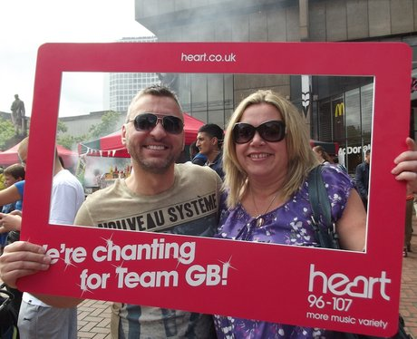 Team GB Official Chant Victoria Square Saturday