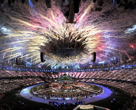 The Olympic Opening Ceremony in Pictures