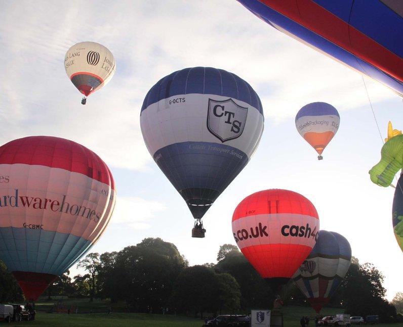 Bristol Balloon Fiesta Launch