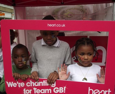 Chanting for GB at Things for kids to do, Portsmou