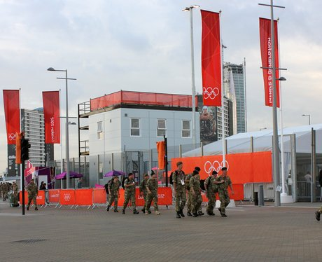 The Army at Olympic Park