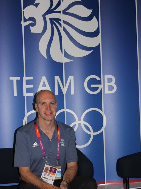 Heart Breakfast Visits Team GB House