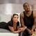 Image 2: Kanye West and Kim Kardashian on bed