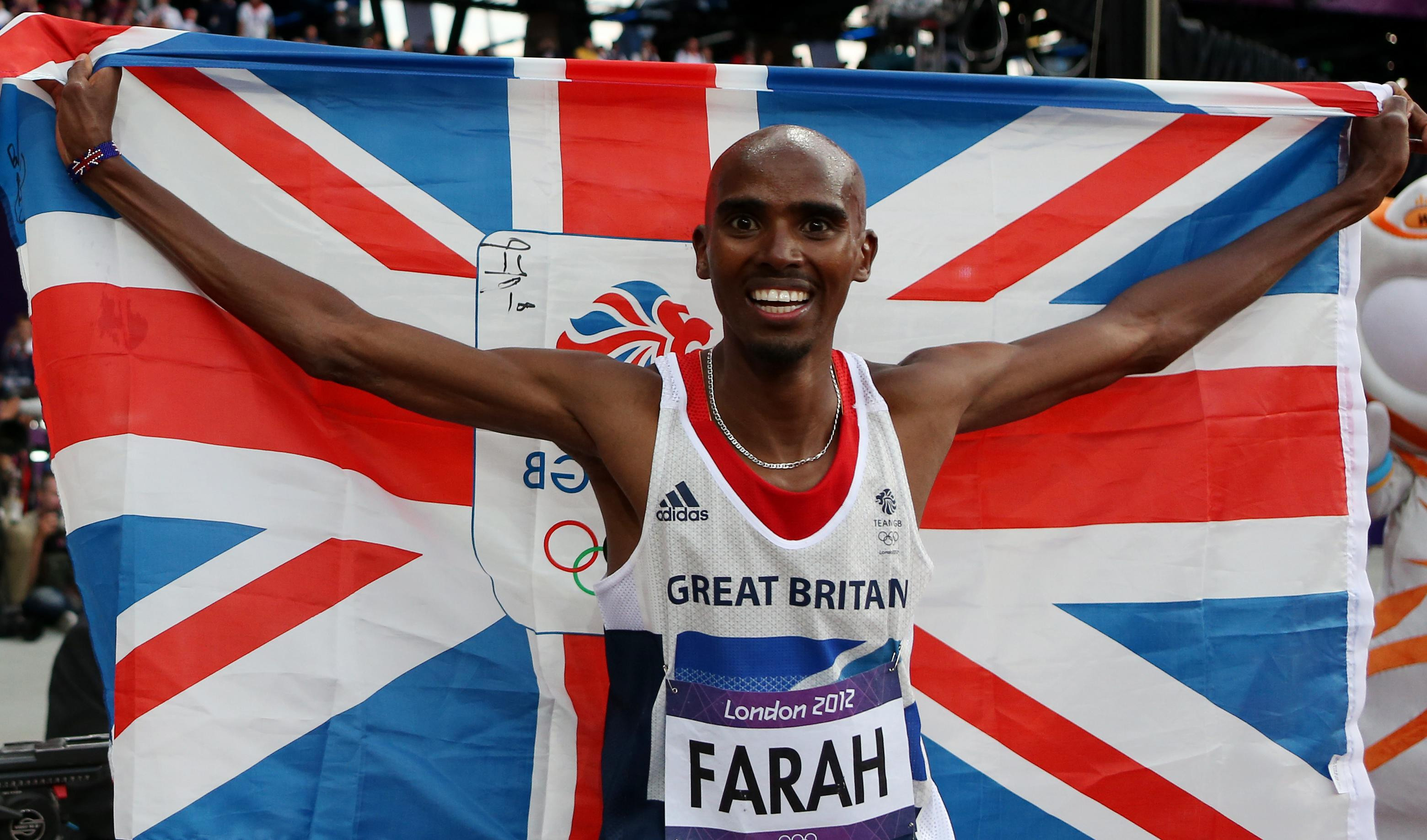 Mo Farah Wins London 2012 Gold Medal