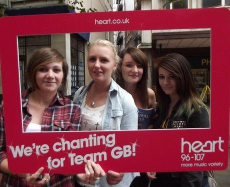 Official Team GB Chant Birmingham tour