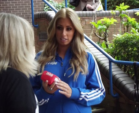 Stacey Solomon and Food Olympics