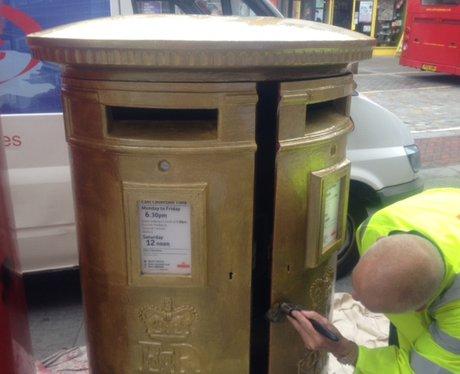Anthony Joshua Post Box