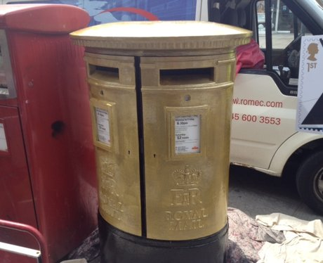 Anthony Joshua Post Box