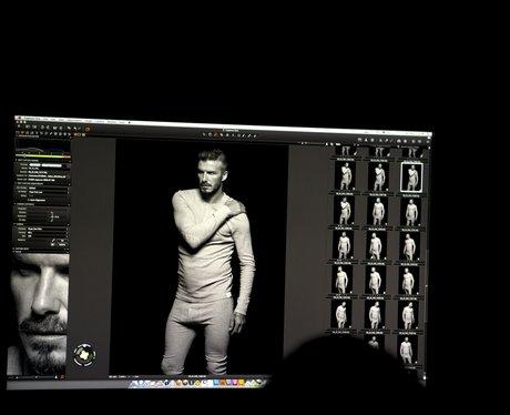David Beckham H&M Underwear Campaign