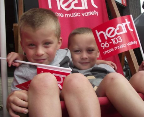 Heart at Shepton Mallet Honda