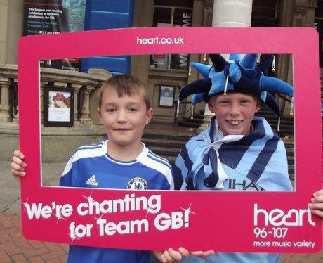 Team GB chant Sunday