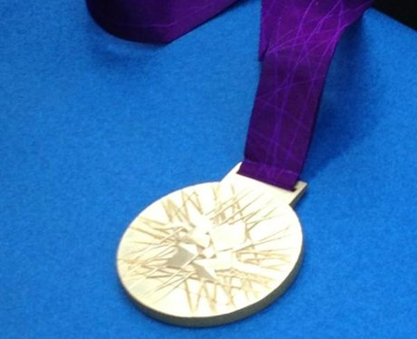 Ben's gold medal!