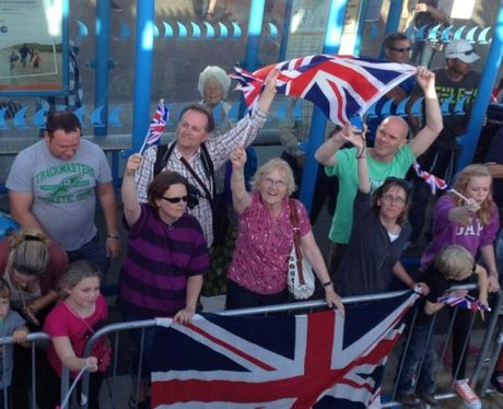 Team GB's celebration parade in Weymouth and Portl