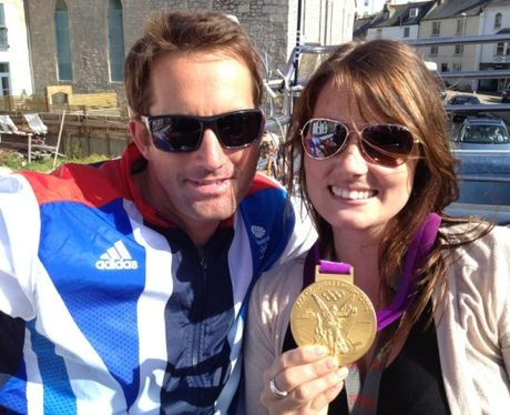 Ben Ainslie and Hearts Katie Callaghan