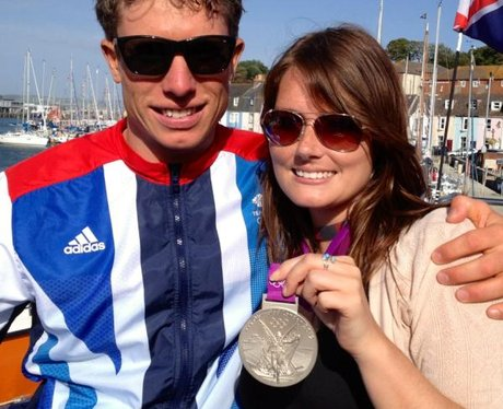 Stuart Bithell and Hearts Katie Callaghan