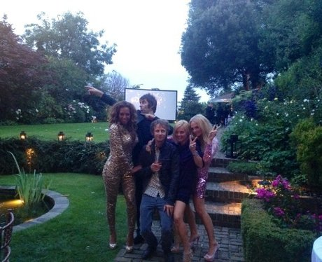 The Spice Girls and Liam Gallagher