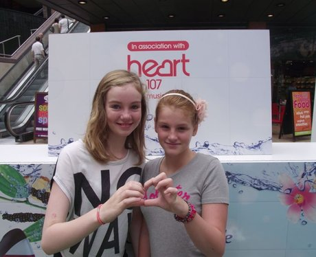 Heart & Radox at Cabot Circus