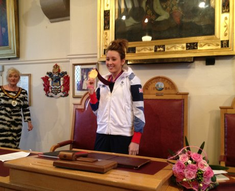 Gold Medalist Jade Jones