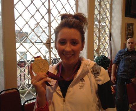Gold Medalist Jade Jones