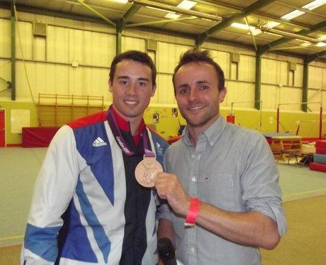 Kristian Thomas Olympic Medalist homecoming