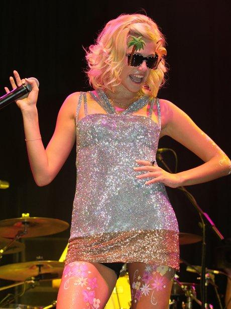 Pixie Lott performs at V Festival 2012