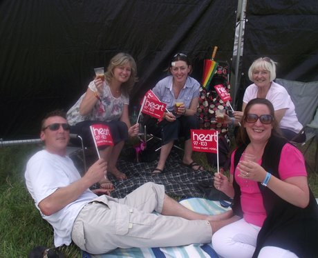 The Arrivals at Rewind Festival 2012